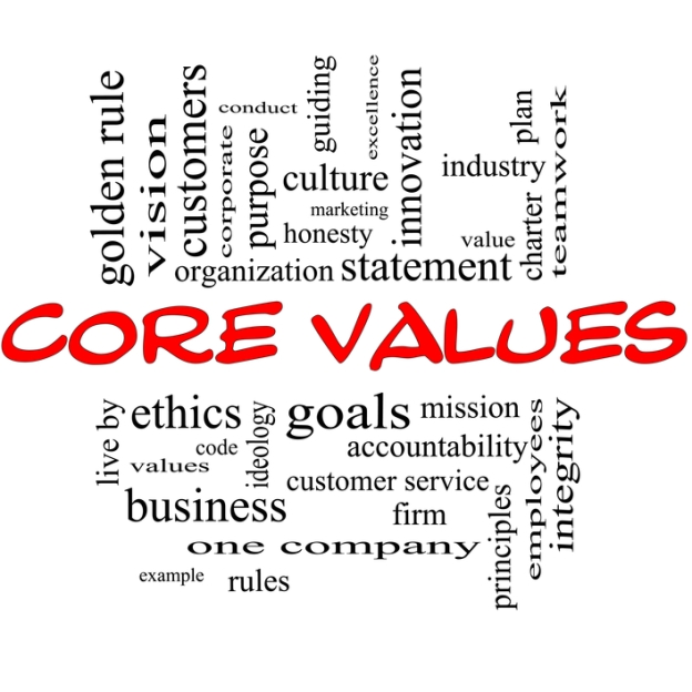 Build your business culture with core values