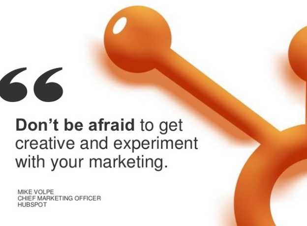 Mike Volpe Hubspot marketing quote