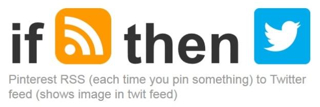 IFTTT pins to Twitter