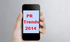 PR trends in 2014