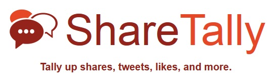 Share Tally is a free tool to measure social media shares
