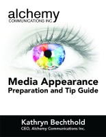 media interview tips and advice - free ebook