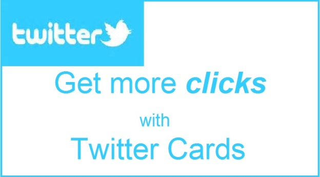 get more clicks with Twitter cards